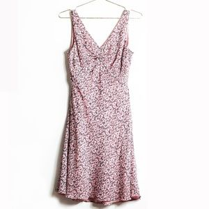 Ann Taylor Floral Sleeveless Dress